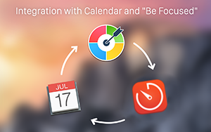 Integration with Be Focused and Calendar