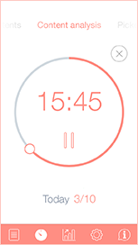 timer iphone Pomodoro Time