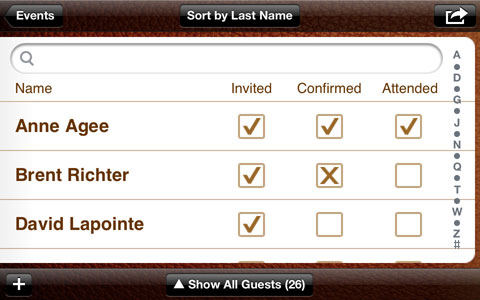 guest list creator